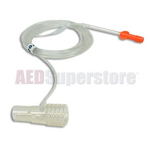 etCO2 Filter Line Set Adult/Pediatric 25pc for Philips HeartStart MRx Monitor/Defibrillators