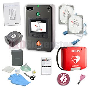 Philips HeartStart FR3 AED Mobile Responder Value Package