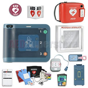 Philips HeartStart FRx AED School & Community Value Package (Includes RespondER® Premium Items)