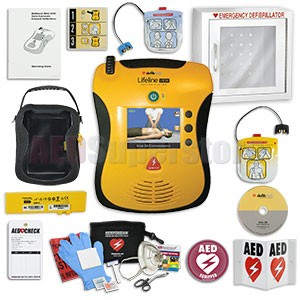 Defibtech Lifeline VIEW AED School & Community Value Package