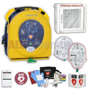 HeartSine samaritan PAD AED School & Community Value Package