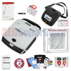 Physio-Control LIFEPAK EXPRESS AED School & Community Value Package