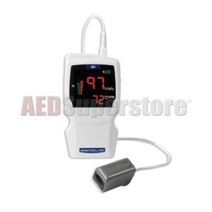 SPECTRO2 20 Pulse Oximeter Hand-Held w/Adult Spot Check Sensor by BCI Smiths Medical