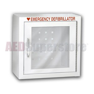 Responder® Premium Compact Size AED Wall Cabinet