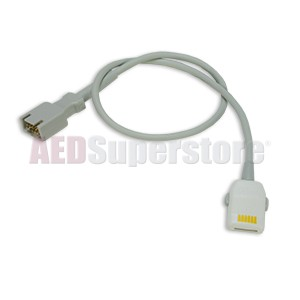 SpO2 LNOP Sensor to LNCS Adapter Cable for ZOLL E, M & R Series Defibrillators