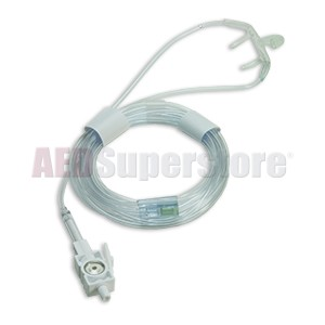 Oral/Nasal CO2 Sampling Cannula (package of 10) for ZOLL M Series & M Series CCT Defibrillators