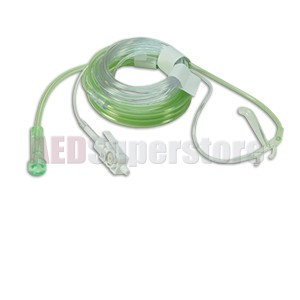Oral/Nasal CO2 w/ O2 Cannula (package of 10) for ZOLL M Series & M Series CCT Defibrillators