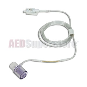 Airway Adapter Kit w/Dehumidification Tubing, Pediatric/Infant (package of 10) for ZOLL M Series & M Series CCT Defibrillators