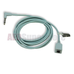 Disposable Temperature Sensor Adapter Cable for ZOLL M CCT & X Series Defibrillators