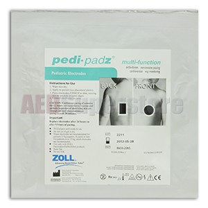 ZOLL Pedi-padz Pediatric Liquid Gel Multi-Function Electrodes