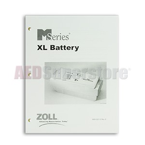 ZOLL XL Battery Operator's Manual