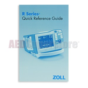 Quick Reference Guide for ZOLL R Series Defibrillators (package of 5)