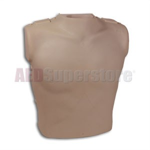 Prestan Torso Assembly with Monitor for the Professional Adult Dark Skin Manikin