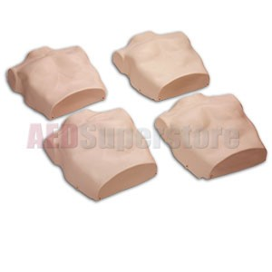 Replacement Torso Skins for the Prestan Professional Child Medium Skin Manikin (4-Pack)