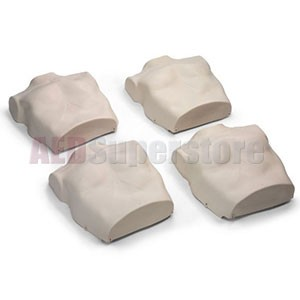 Replacement Torso Skins for the Prestan Professional Child Light Skin Manikin (4-Pack)