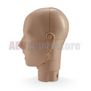 Prestan Jaw Thrust Head Assembly for the Professional Adult Dark Skin Manikin