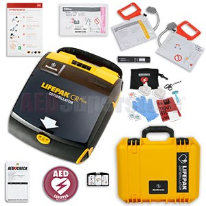 Physio-Control LIFEPAK CR Plus AED Mobile Responder Value Package