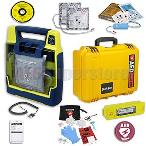 Cardiac Science Powerheart AED G3 Plus Mobile Responder Value Package