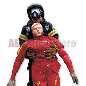 Simulaids 200 lbs. (Weighted) Large Body Rescue Randy Manikin