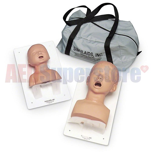 Nasco 3-Year-Old Airway Management Trainer with Board