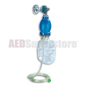 Nasco Disposable Resuscitator with Reservoir Bag - Pediatric