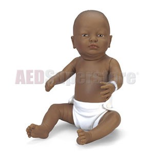 Nasco Newborn Baby Doll - Black Baby Boy