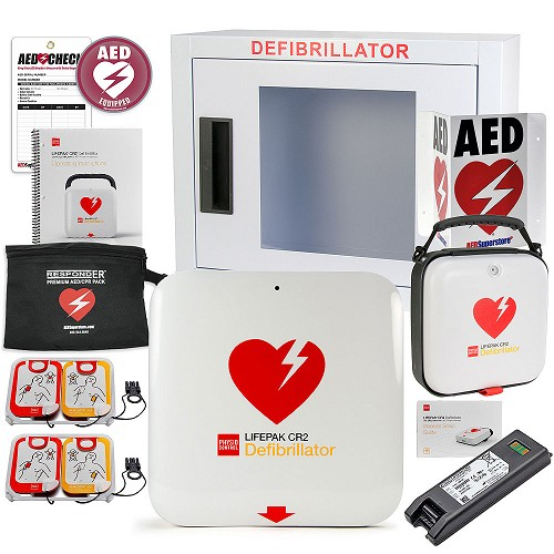 Physio-Control LIFEPAK® CR2 AED School & Community Value Package