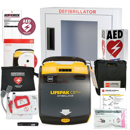 Physio-Control LIFEPAK CR Plus AED School & Community Value Package