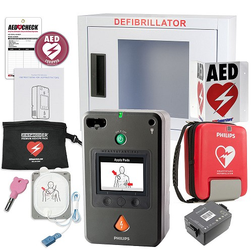 Philips HeartStart FR3 AED School & Community Value Package