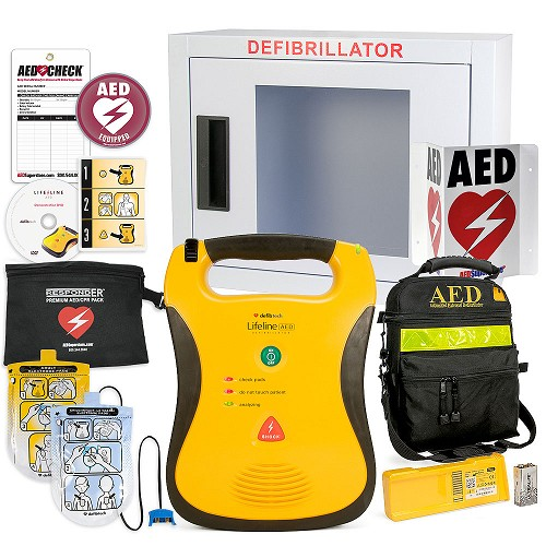 Defibtech Lifeline AED School & Community Value Package