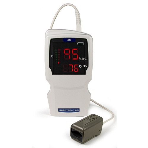 SPECTRO2™ 20 Pulse Oximeter Hand-Held w/Adult Sensor by BCI Smiths Medical
