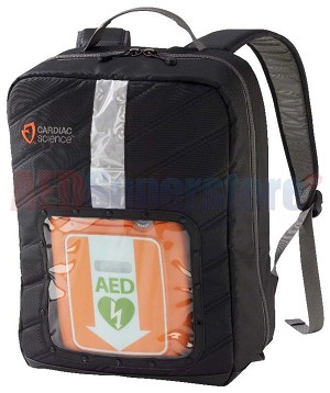 Cardiac Science Backpack for Powerheart<sup>&reg;</sup> G3 & G5 AEDs