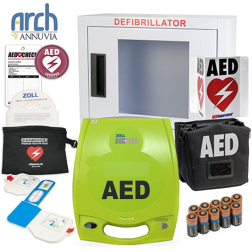 ZOLL AED Plus Complete Value Package