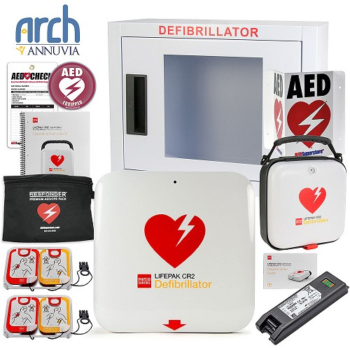 Physio-Control LIFEPAK® CR2 AED Complete Value Package