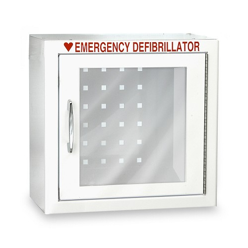 Compact Size AED Wall Cabinet with Advanced Alarm Options