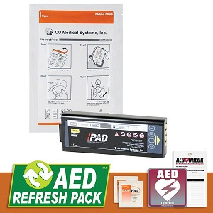 CU Medical i-PAD AED Refresh Pack