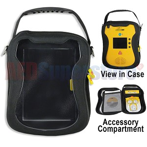 Soft Carry Case for Defibtech Lifeline VIEW/ECG/PRO AED