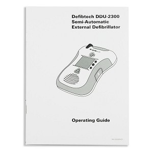 Operating Guide for Defibtech Lifeline VIEW AED