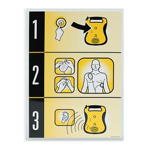 Defibtech Lifeline™ AED Quick Use Card