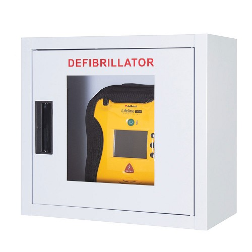 Defibtech Lifeline™ or Lifeline VIEW AED Wall Mount Cabinet