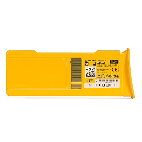 Defibtech Lifeline™ or Lifeline AUTO AED High-Capacity Battery Pack