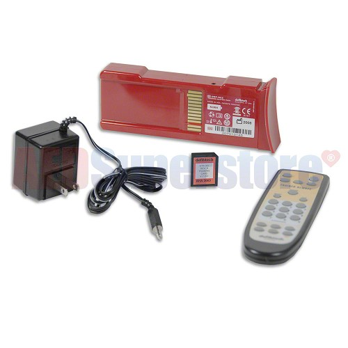 Defibtech Training Kit (No Electrodes), REMOTE, Battery w/Charger, Software