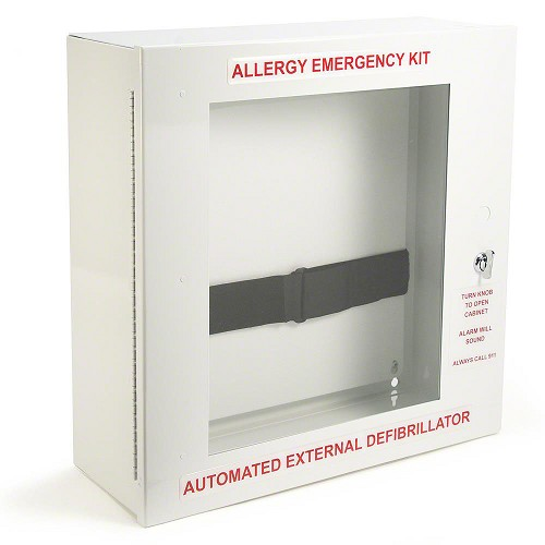 Allergy Emergency Kit™ AED/Allergy Emergency Cabinet