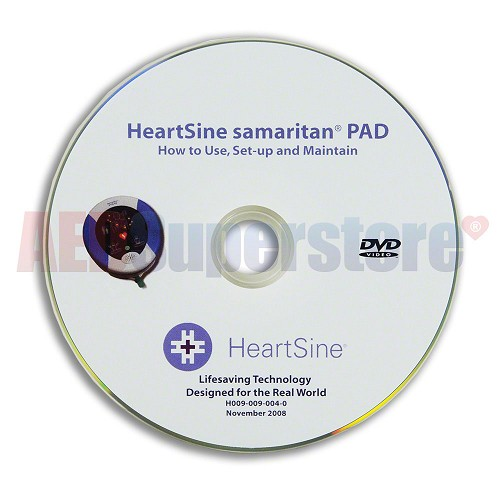 HeartSine® samaritan® PAD Use, Set-up and Maintain DVD