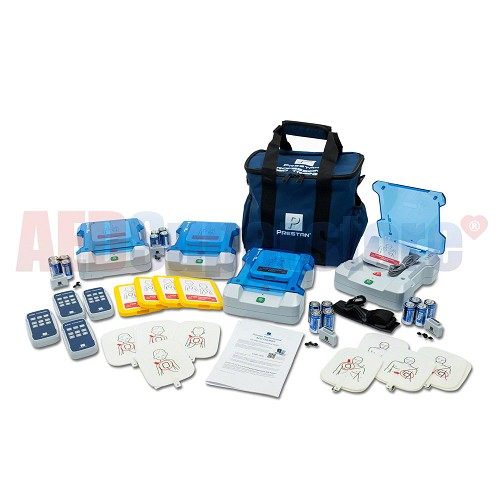 Prestan Professional AED Trainer 4-Pack w/Remotes