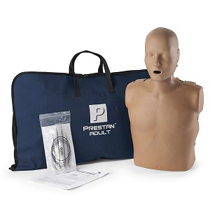 Prestan Manikin (Single), Adult Dark Skin without CPR Monitor