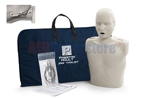 Prestan Professional Adult Jaw Thrust Light Skin Manikin without CPR Monitor