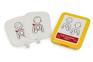 Pediatric Training Pads w/Case for the Prestan Professional AED Trainer