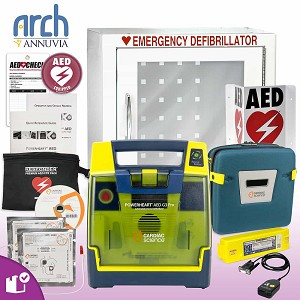 Cardiac Science Powerheart AED G3 Pro Complete Value Package