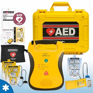 Defibtech Lifeline AED Mobile Responder Value Package